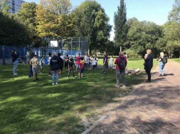 Cleanteam WIJ 3.0 helpt op World cleanup day
