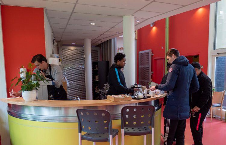 Eetcafé de Wissel in Den Dolder (foto: Gerbrand Langenberg)