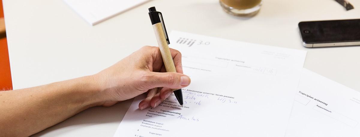 formulier invullen en aanmelden