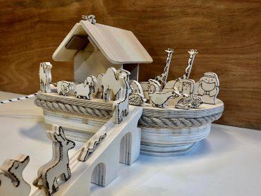 Lees meer over het artikel Ger maakte een Ark van Noach bij Strooij Actief